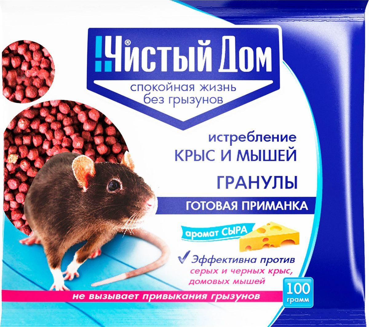 Гранулированная приманка, в состав которой входят натуральные продукты, действующее вещество и специальные добавки. Запах сыра создает высокую привлекательность для грызунов. Способ применения: Поместить приманку в лотки или на подложки (кусочки полиэтилена, плотной бумаги): по 10-20 г (1-2 столовые ложки) для мышей, по 30-50 г (3-5 столовых ложек) для крыс. Размещение в специальных емкостях повышает поедаемость средства, препятствуя его растаскиванию грызунами. Размещают емкости в предварительно выявленных местах обитания грызунов: поблизости от их нор, на путях перемещении, вдоль стен и перегородок. Расстояние между точками раскладки 2-10 м в зависимости от захламленности помещений и численности грызунов. Места раскладки осматривают через 1-2 дня, а затем с интервалом в одну неделю, восполняя приманку по мере ее поедания. Загрязненную или испорченную приманку следует заменять на новую. Нетронутую приманку можно переносить в другое место. Работу проводят до исчезновения грызунов.
