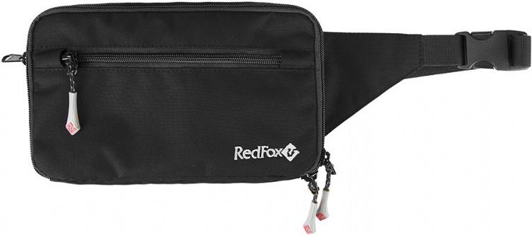 Сумка поясная Red Fox N4, цвет: черный