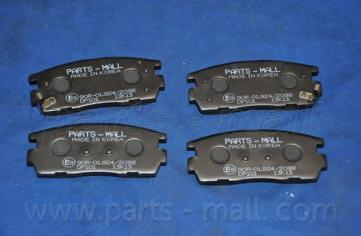 Колодки тормозные задние PMC PKCE21PKCE21