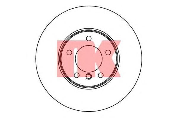 Диск тормозной NK 201582 комплект 2 шт201582