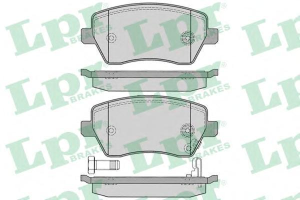 Колодки тормозные LPR / AP 05P122905P1229