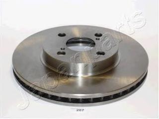 Диск тормозной Japanparts DI207 комплект 2 штDI207