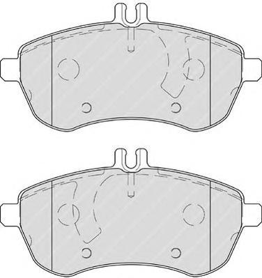 Колодки тормозные дисковые Premier Ferodo FDB4199FDB4199