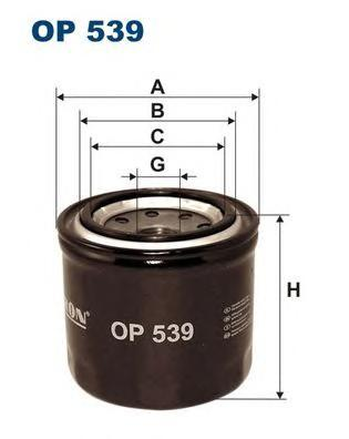 Фильтр масляный Filtron OP539OP539