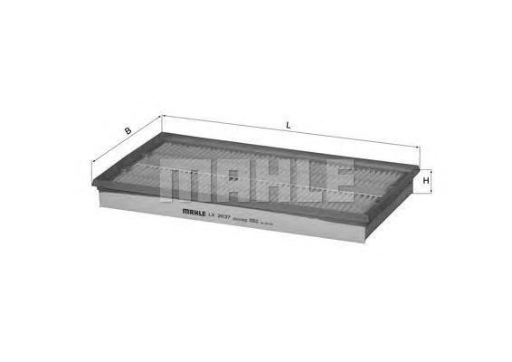 Фильтр воздушный Mahle/Knecht. LX2037LX2037