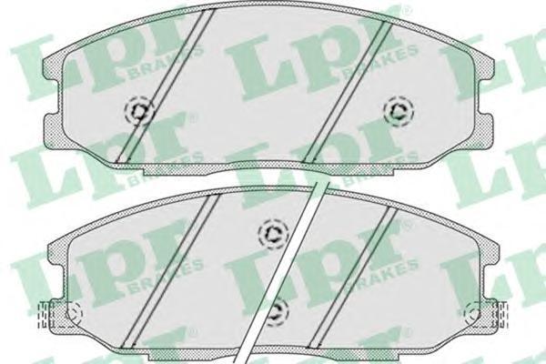 Колодки тормозные LPR / AP 05P85805P858