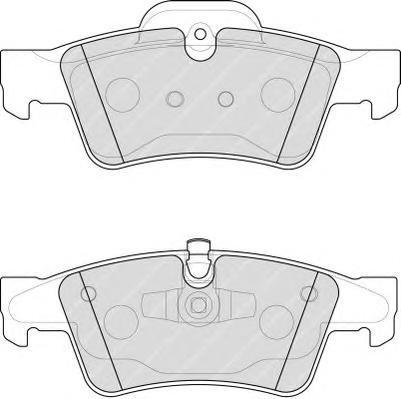 Ferodo Колодки тормозные дисковые Premier. FDB1831FDB1831