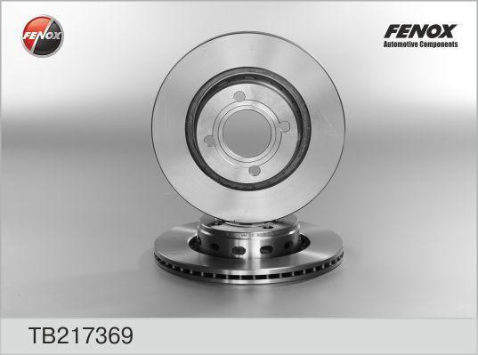 Диск тормозной Fenox TB217369 комплект 2 штTB217369