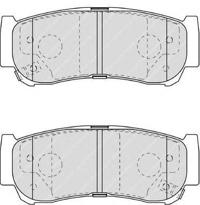 Колодки тормозные дисковые Premier Ferodo FDB1910FDB1910