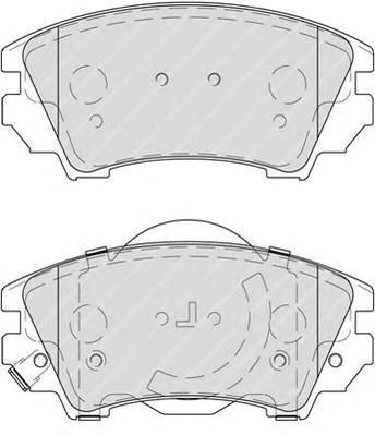 Колодки тормозные дисковые Premier Ferodo FDB4208FDB4208