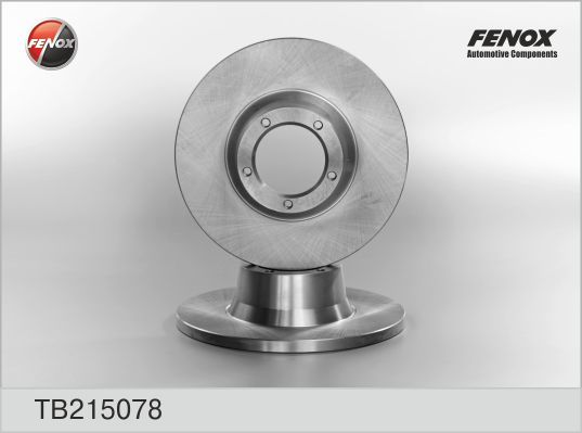 Диск тормозной Fenox TB215078 комплект 2 штTB215078