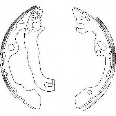 Колодки тормозные дисковые Remsa, комплект. 404000404000