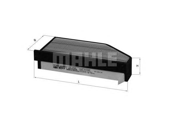 Фильтр воздушный Mahle/Knecht LX1710LX1710