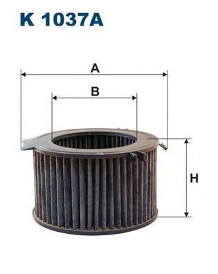 Фильтр салона угольный Filtron K1037AK1037A