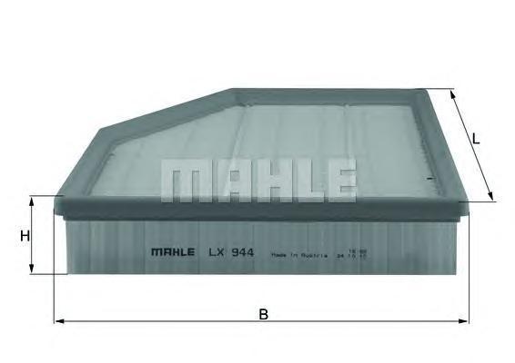 Фильтр воздушный Mahle/Knecht LX944LX944