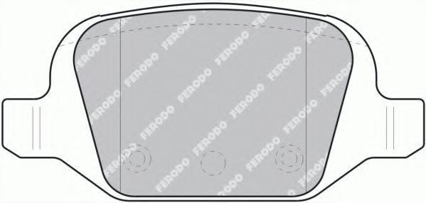 Колодки тормозные дисковые Premier Ferodo FDB1324FDB1324