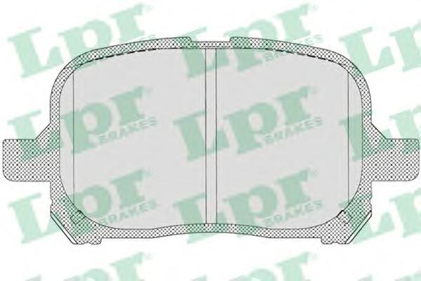 Колодки тормозные передние дисковые LPR / AP 05P71205P712