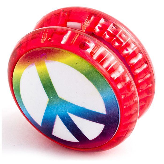 Эврика Йо-йо Peace №2 игрушка йо йо 1 toy на палец