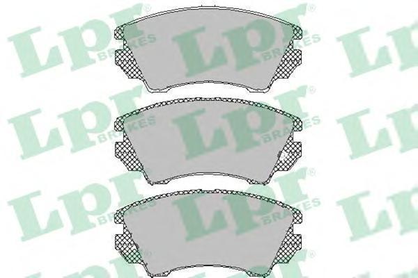 Колодки тормозные LPR / AP 05P146705P1467