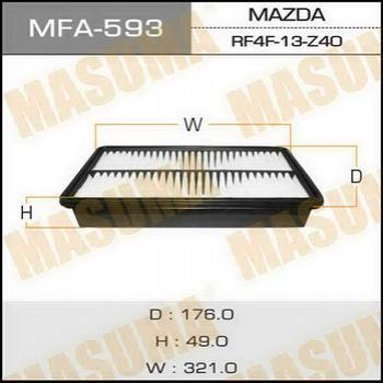 Фильтр воздушный Masuma MFA593MFA593