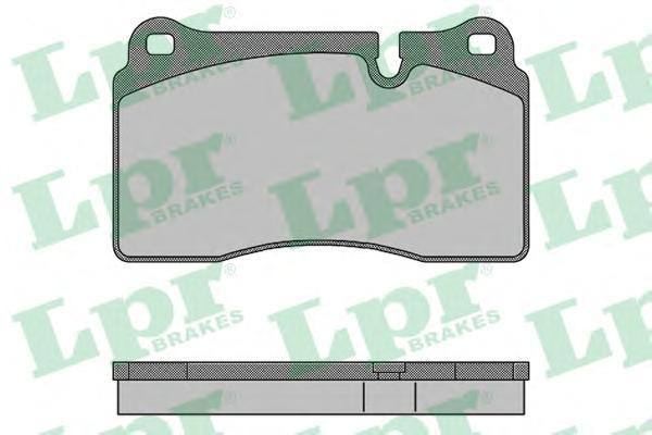 Колодки тормозные передние LPR / AP 05P150505P1505
