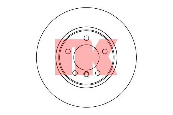 Диск тормозной NK 201553 комплект 2 шт201553