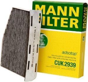 Фильтр салона угольный Mann-Filter. CUK2939CUK2939