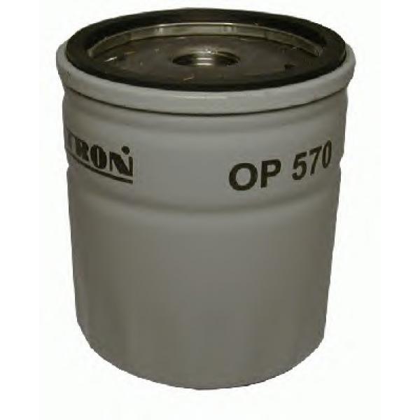 Filtron Масляный фильтр. OP570OP570Фильтр масляный OPEL 1.3-2.5L 85=> /DAEWOO ESPERO,NEXIA 1.5-2.0L Bedford; Cadillac; Chevrolet; Daewoo; Lada; Opel; Zaz (3A3)