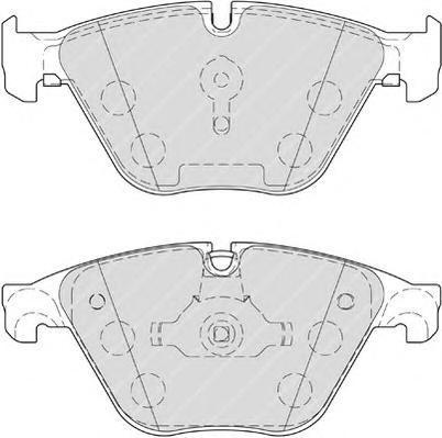 Колодки тормозные дисковые Premier Ferodo FDB4382FDB4382