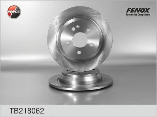 Диск тормозной Fenox TB218062TB218062