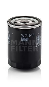 Фильтр масляный Mann-Filter W71318W71318