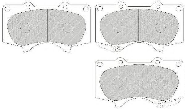 Колодки тормозные дисковые Premier Ferodo FDB1698FDB1698