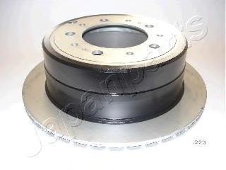 Диск тормозной Japanparts DP223 комплект 2 штDP223