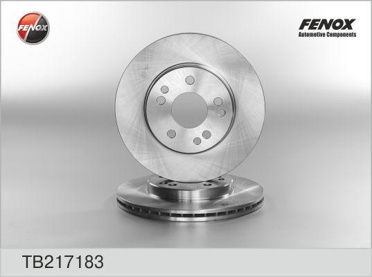 Диск тормозной Fenox TB217183 комплект 2 штTB217183