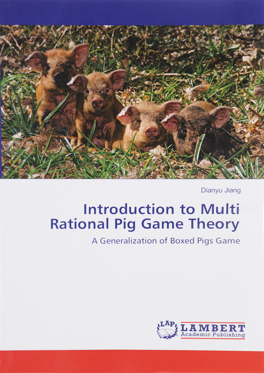 Introduction to Multi Rational Pig Game Theory: A Generalization of Boxed Pigs Game barrow tzs1 a02 yklzs1 t01 g1 4 white black silver gold acrylic water cooling plug coins can be used to twist the
