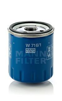 Масляный фильтр Mann-Filter W7161W7161