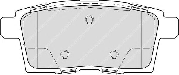 Колодки тормозные дисковые Premier Ferodo FDB4366FDB4366