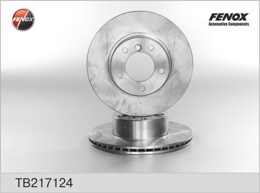 Диск тормозной Fenox TB217124 комплект 2 штTB217124