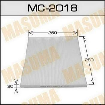 Фильтр салона Masuma MC2018MC2018