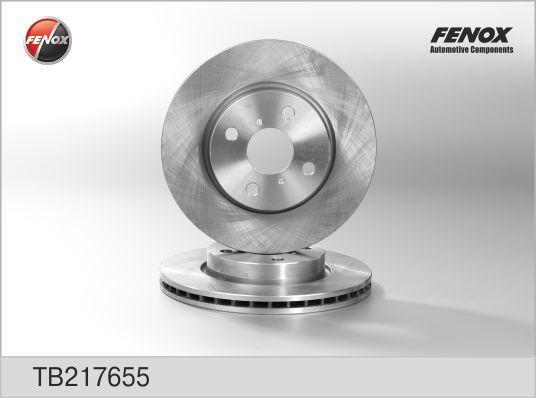 Диск тормозной Fenox TB217655 комплект 2 штTB217655
