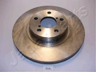 Диск тормозной Japanparts DI711 комплект 2 штDI711