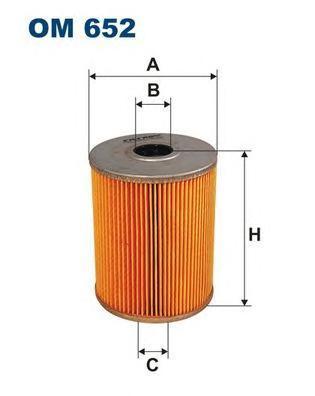 Фильтр масляный Filtron OM652OM652