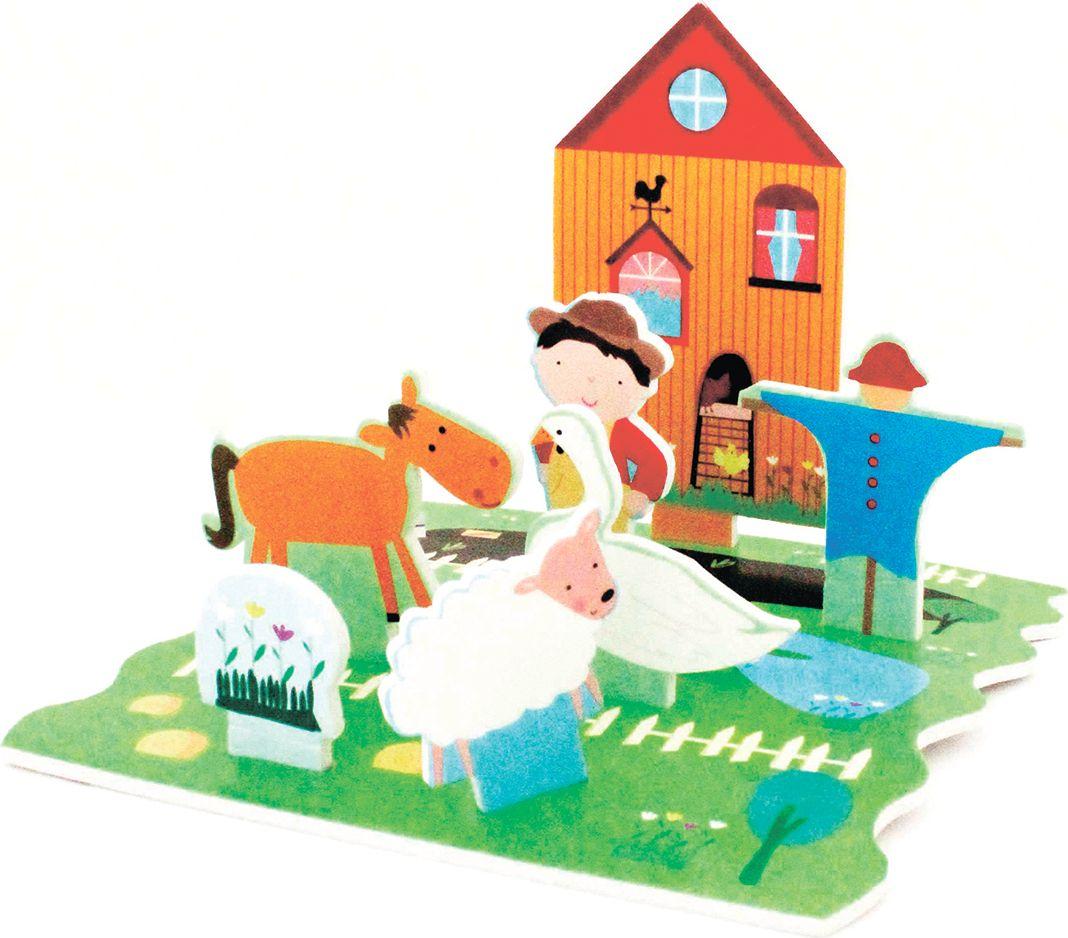 Barney&Buddy Набор стикеров для ванны Веселая ферма barneybuddy barneybuddy игрушки для ванны стикеры веселая ферма