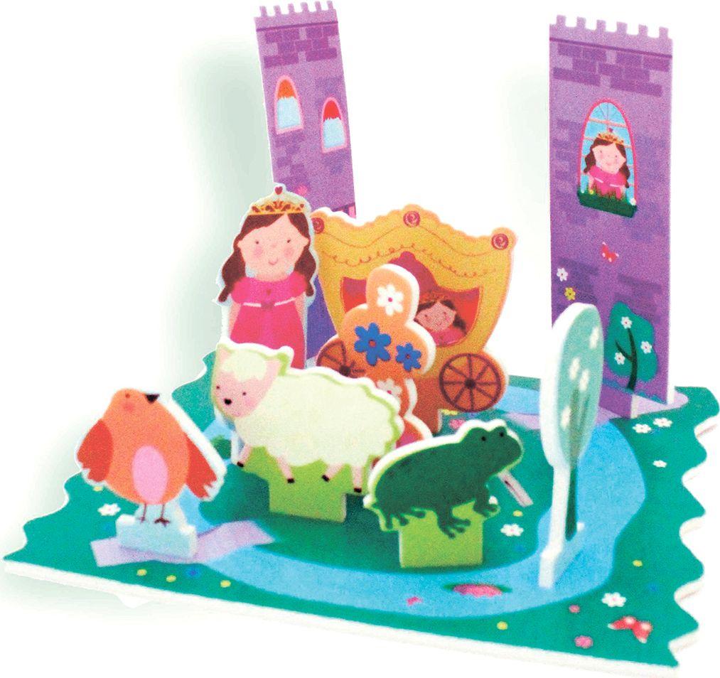 Barney&Buddy Набор стикеров для ванны Замок принцессы barneybuddy barneybuddy игрушки для ванны стикеры замок принцессы