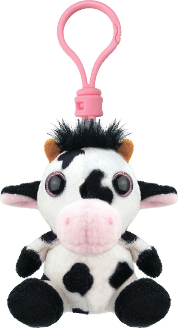 Wild Planet Мягкая игрушка-брелок Корова полки для игрушек в детскую купить