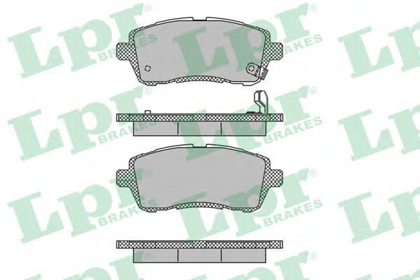 Колодки тормозные передние LPR / AP 05P146405P1464