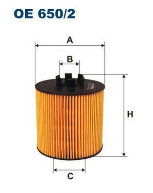 Фильтр масляный Filtron OE6502OE6502
