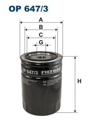 Фильтр масляный Filtron OP6473OP6473