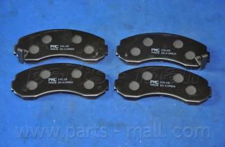 Колодки тормозные комплект PMC PKB009PKB009