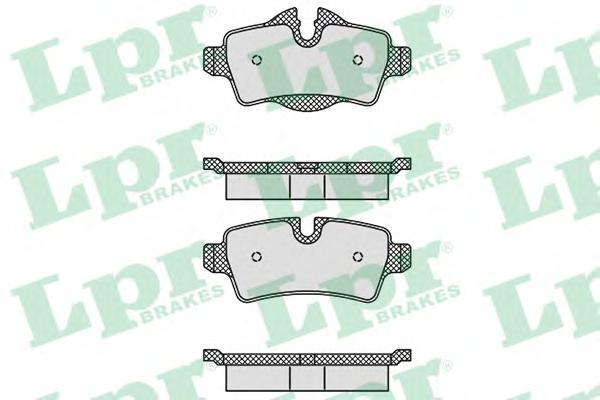 Колодки тормозные задние LPR / AP 05P148105P1481